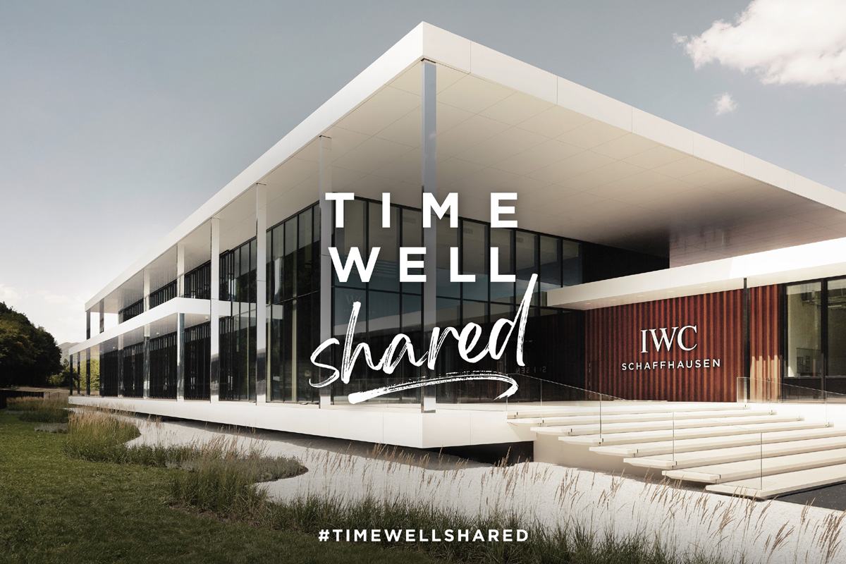 "L'immagine della campagna ""Time Well Shared"""