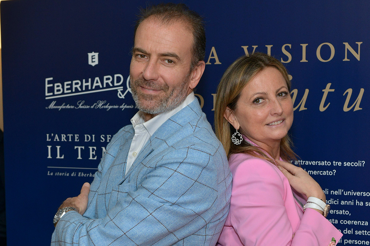 Mario Peserico e Barbara Monti