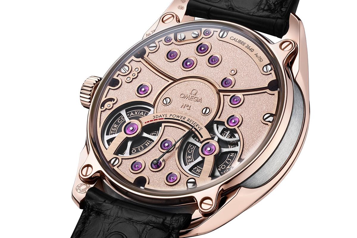 Il fondello del De Ville Tourbillon Master Chronometer