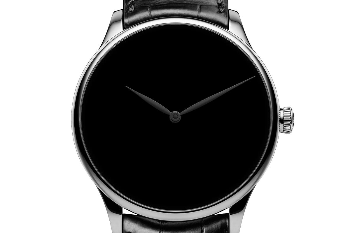 H. Moser & Cie Venturer Vantablack® Black Hands