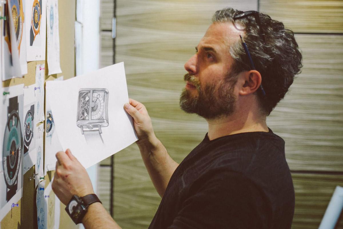 Un ritratto di Mitch Greenblatt
