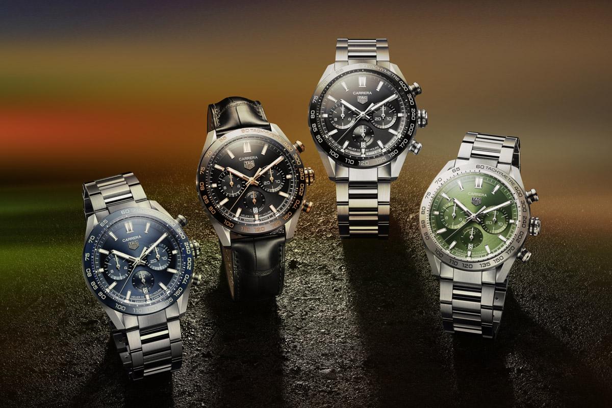I quattro nuovi Carrera