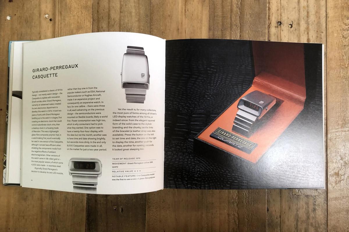 """Doppia pagina di """"Retro Watches"""""""