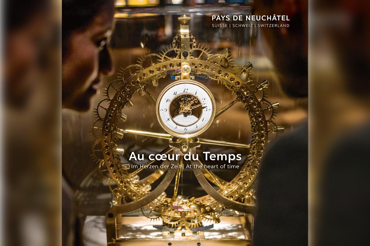 La brochure del pacchetto Au coeur du temps