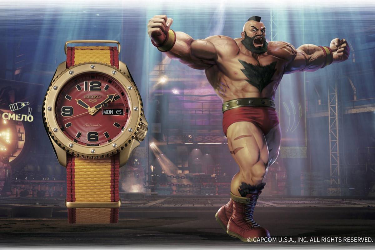 Seiko 5 Sports Street Fighter V Zangief
