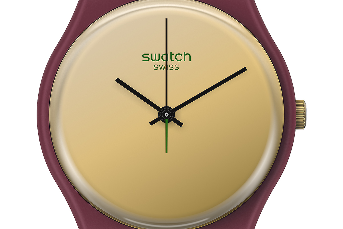 Swatch 1983 Reloaded GoldenShijian