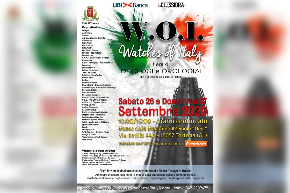 la locandina di Watches of Italy