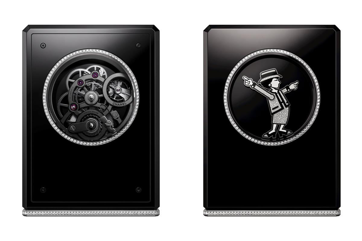 Coco Clock, l'orologio da tavolo della serie Coco watch