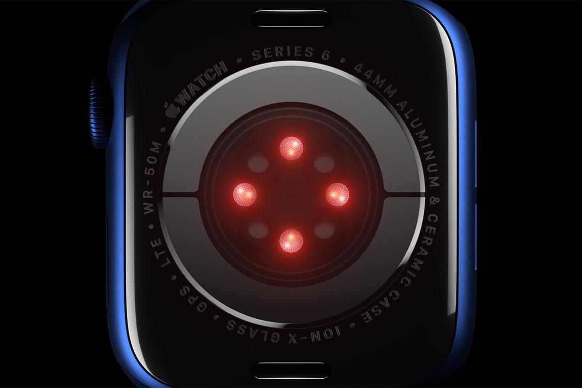 Il fondello dell'Apple Watche Series 6
