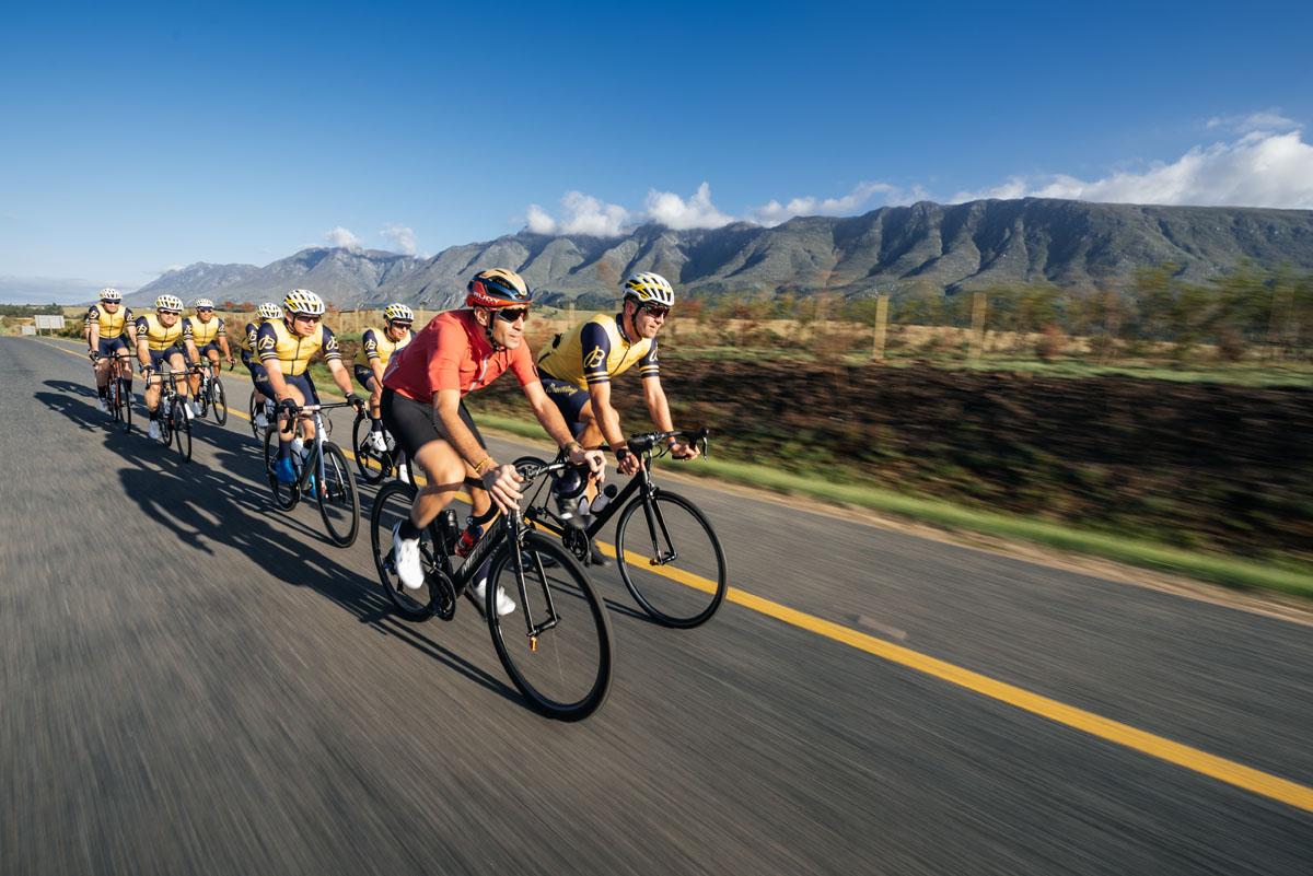Breitling e il ciclismo: Nibali & Co. in Sudafrica