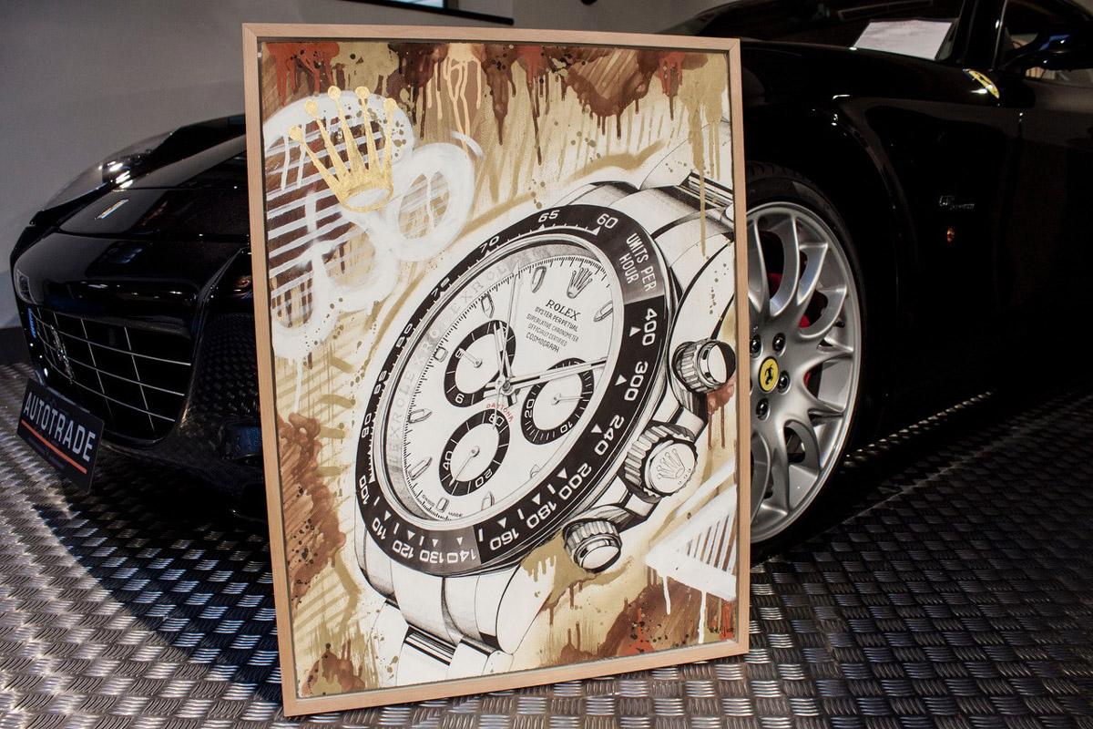Rolex Daytona ritratto da Derom