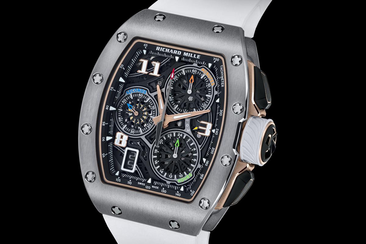 Il cronografo RM 72-01 con cassa in titanio