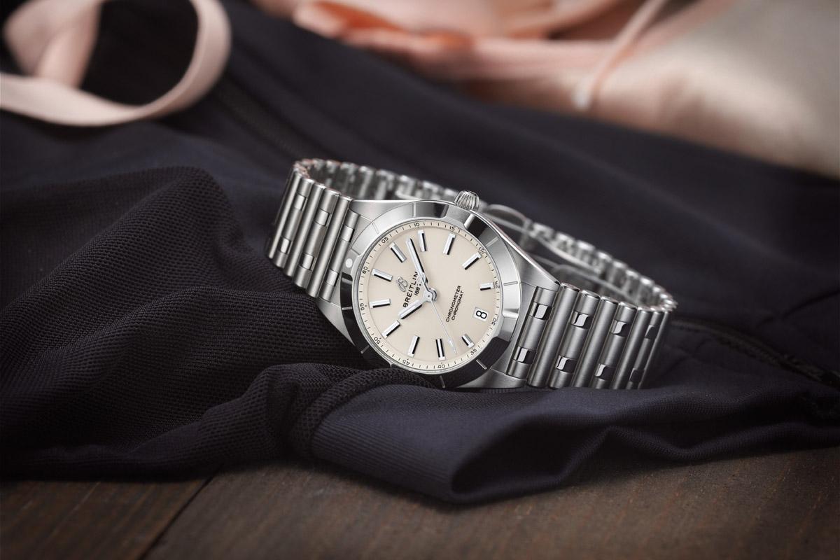 Chronomat Lady 32 mm in acciaio al quarzo