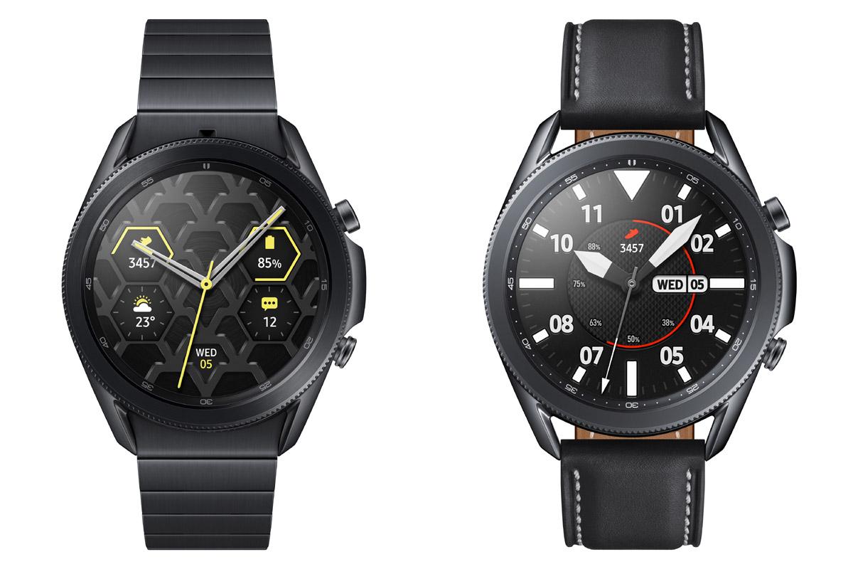Due esemplari del Galaxy Watch3