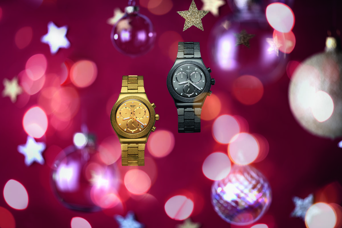 Due Irony Chrono della Swatch Holiday Collection