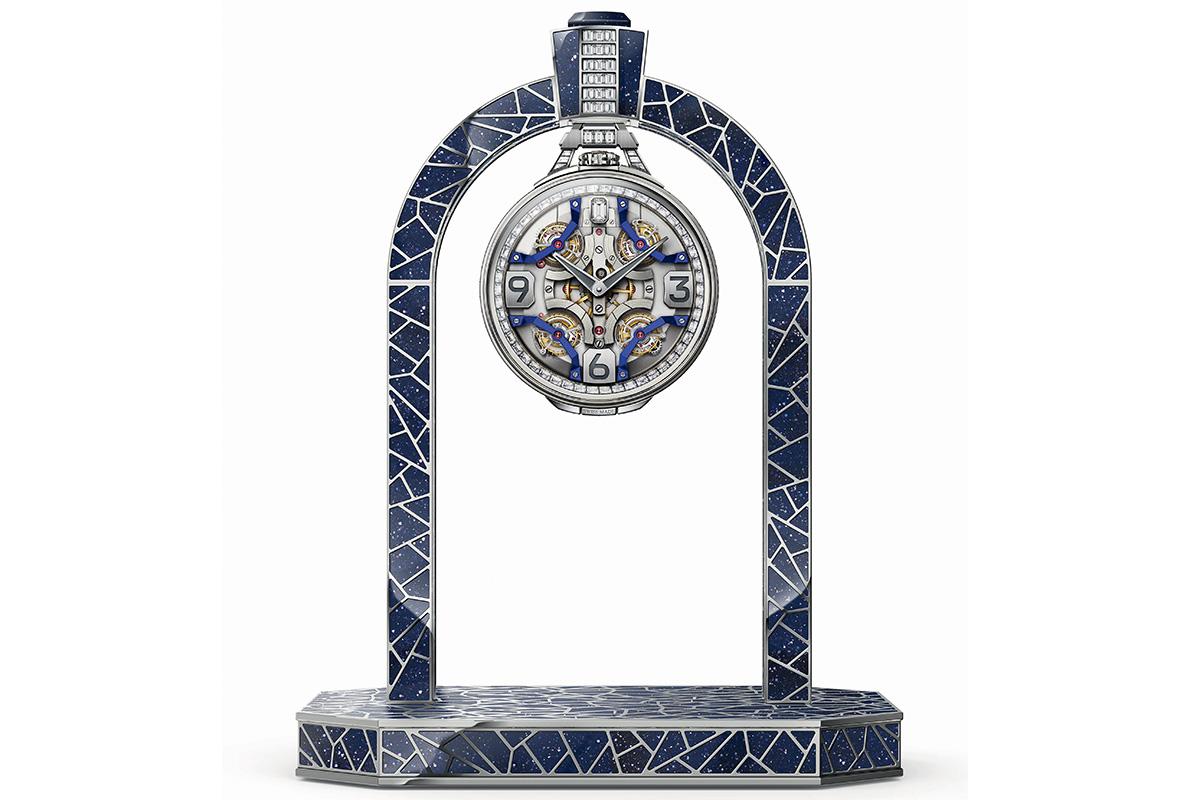 l'Ultimate Quadri Tourbillon di Harry Winston come orologio da tavolo