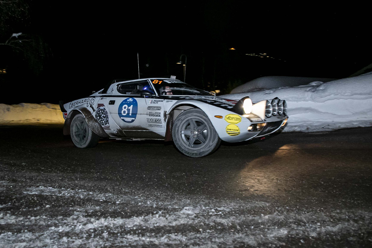 Lancia Stratos 1974 alla Winter Marathon 2021
