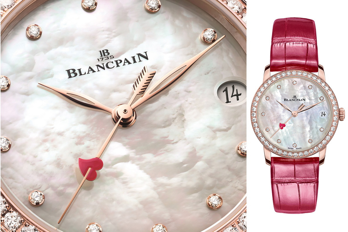 Blancpain Villeret Women Date, l'orologio per San Valentino 2021