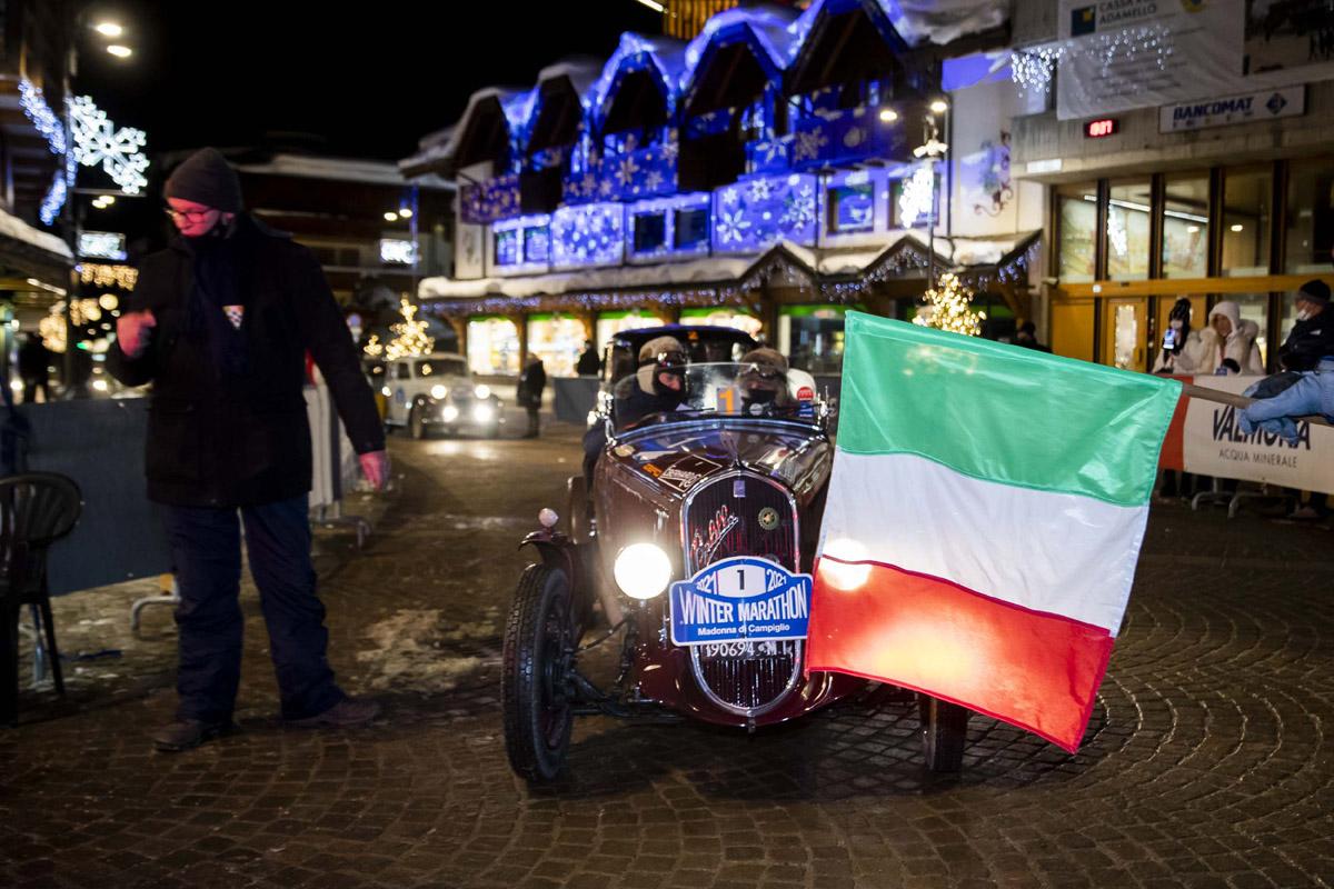 La Fiat 508 S del 1935 alla Winter Marathon 2021