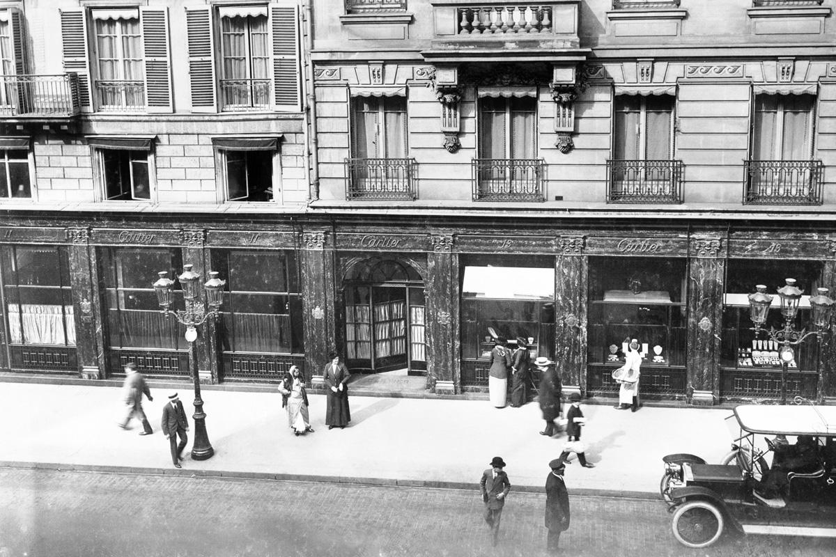 Cartier rue de la Paix, 1913