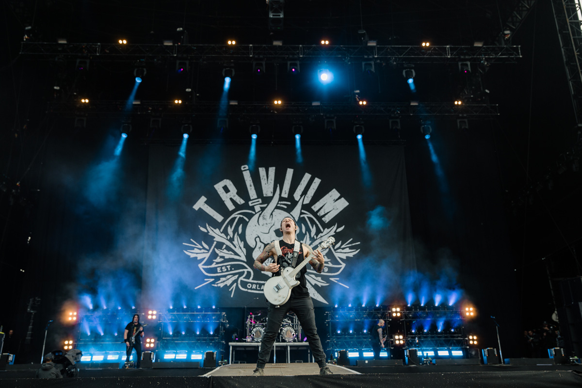 Matt Kiichi Heafy con i Trivium