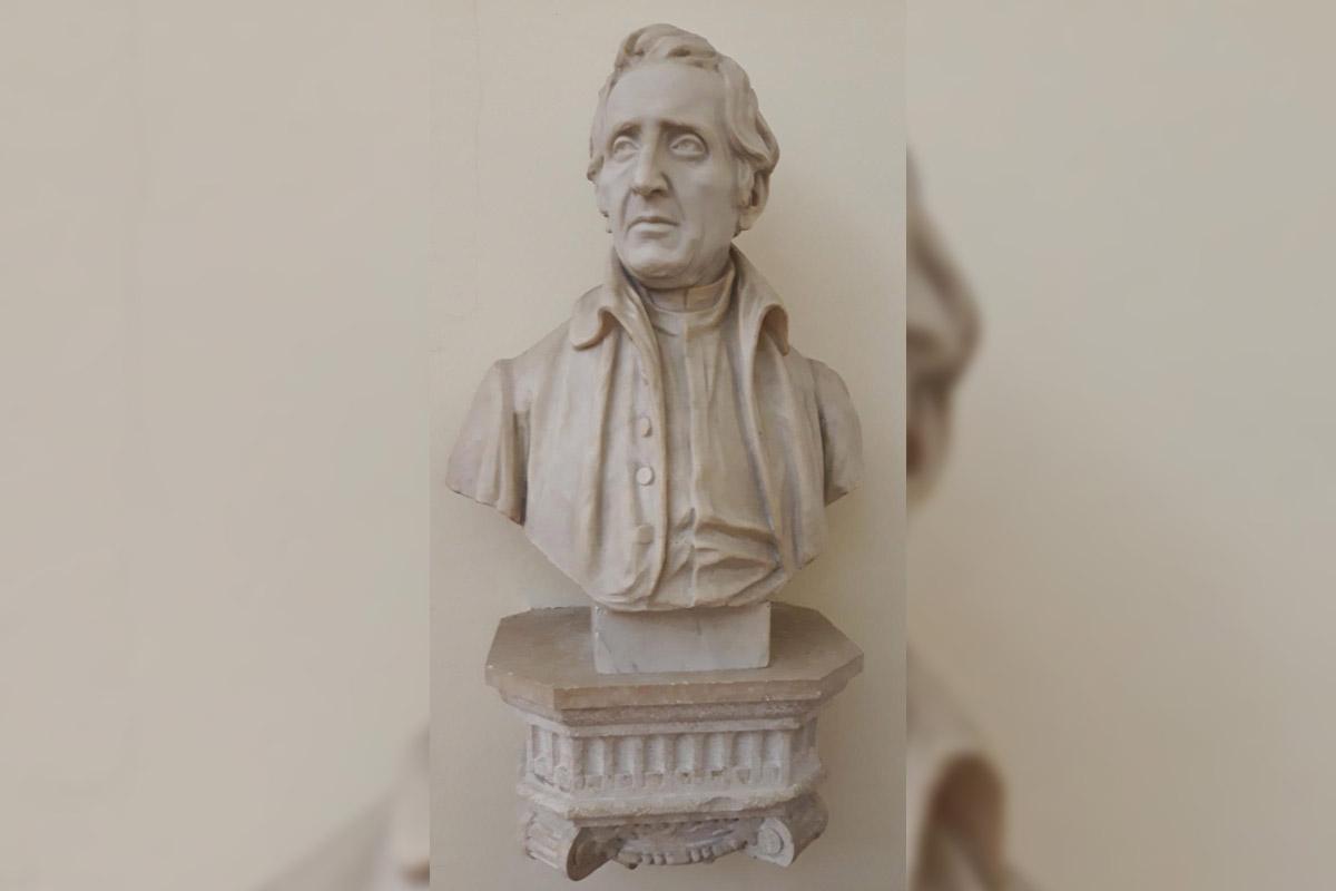 Busto di Giuseppe Zamboni