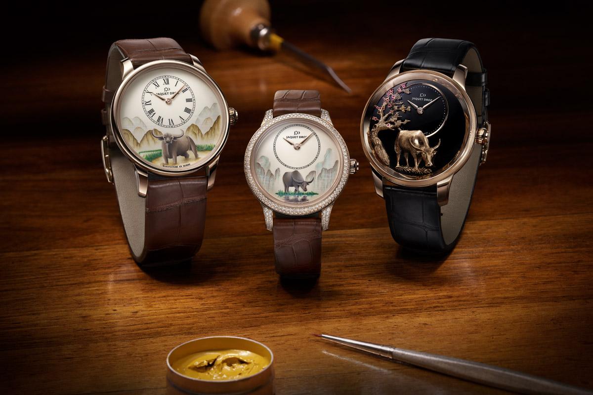Gli orologi di Jaquet Droz per l'anno del bue