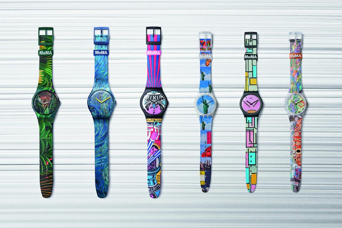 La collezione Swatch X MoMA