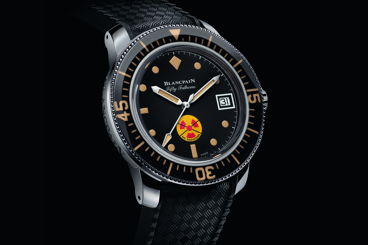 Blancpain Tribute to Fifty Fathoms No Rad