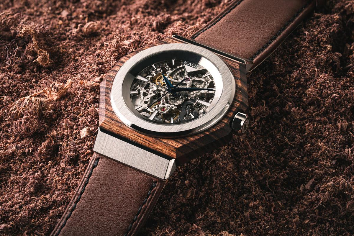 Un esemplare di Kauri Watches