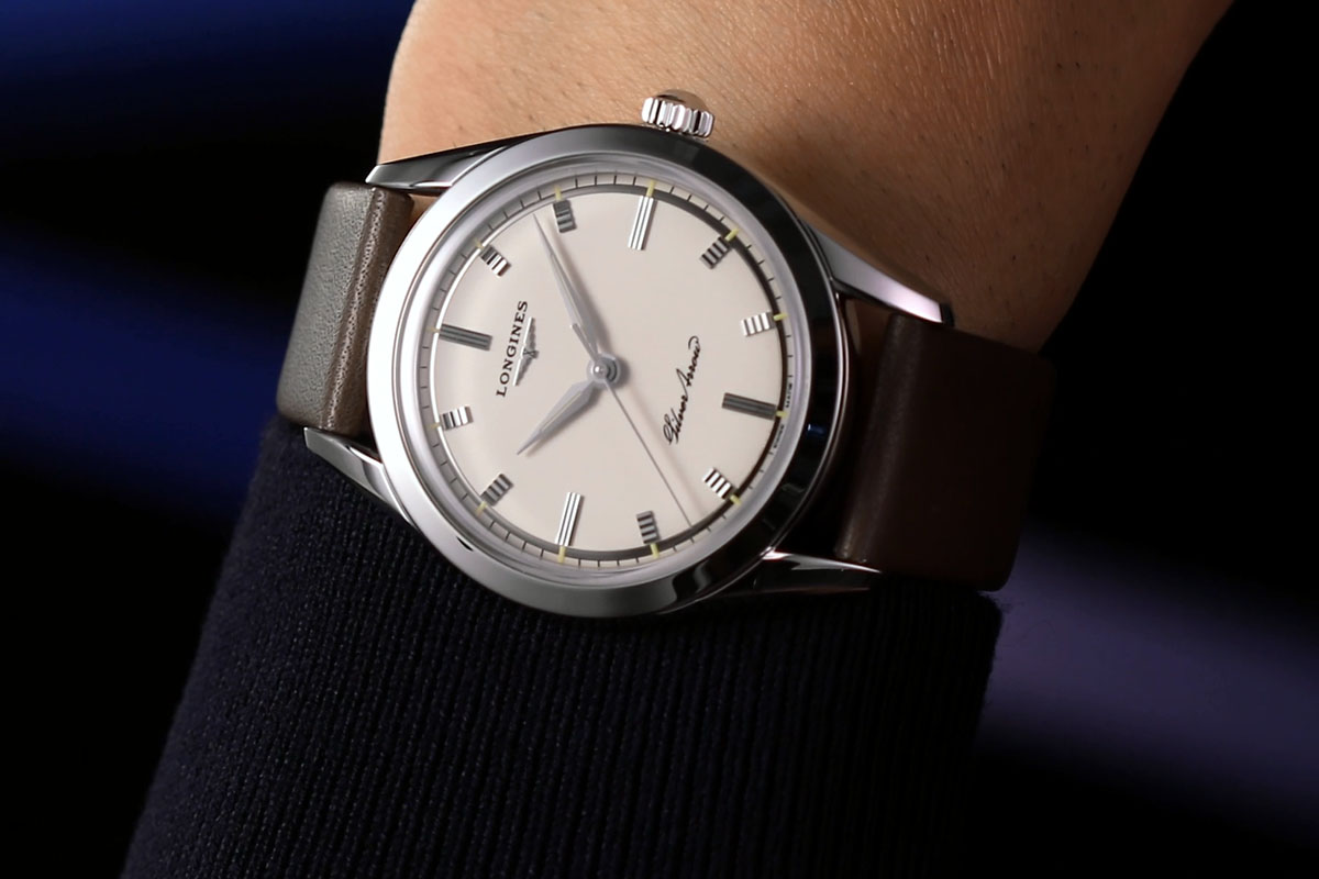Longines Silver Arrow indossato