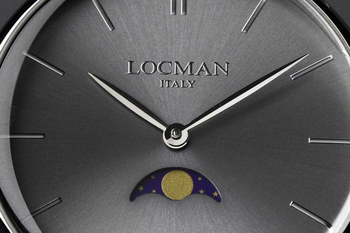 Il quadrante del Locman 1960 Fasi Lunari