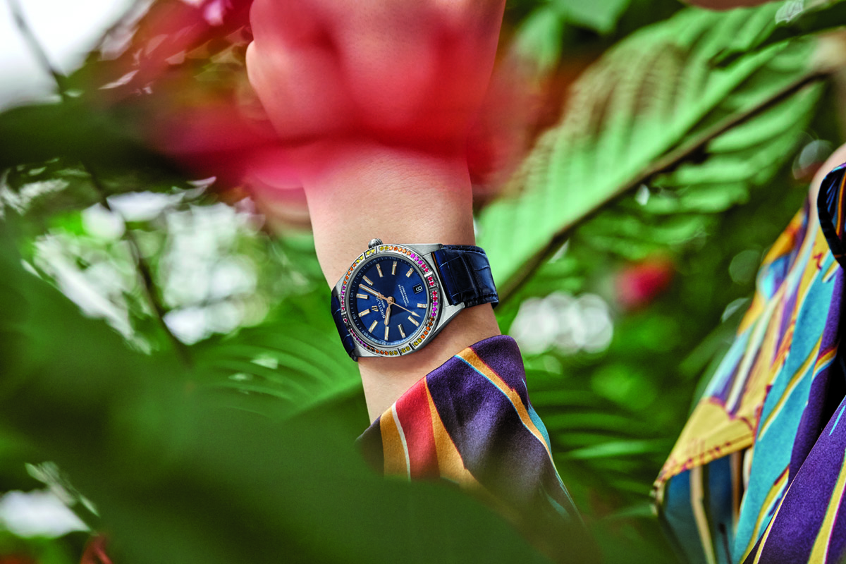 Chronomat South Sea blu