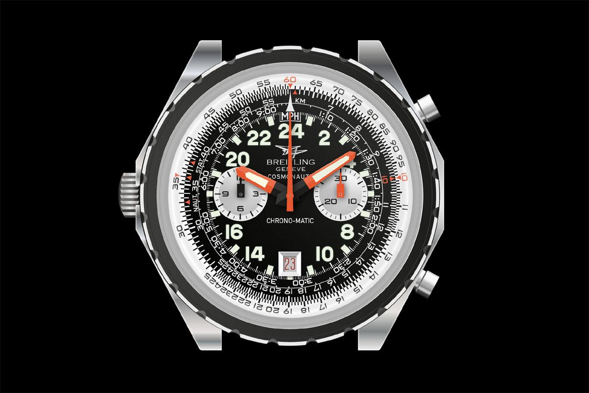 Breitling Navitimer Cosmonaut riprodotto da Bjoern Altmann