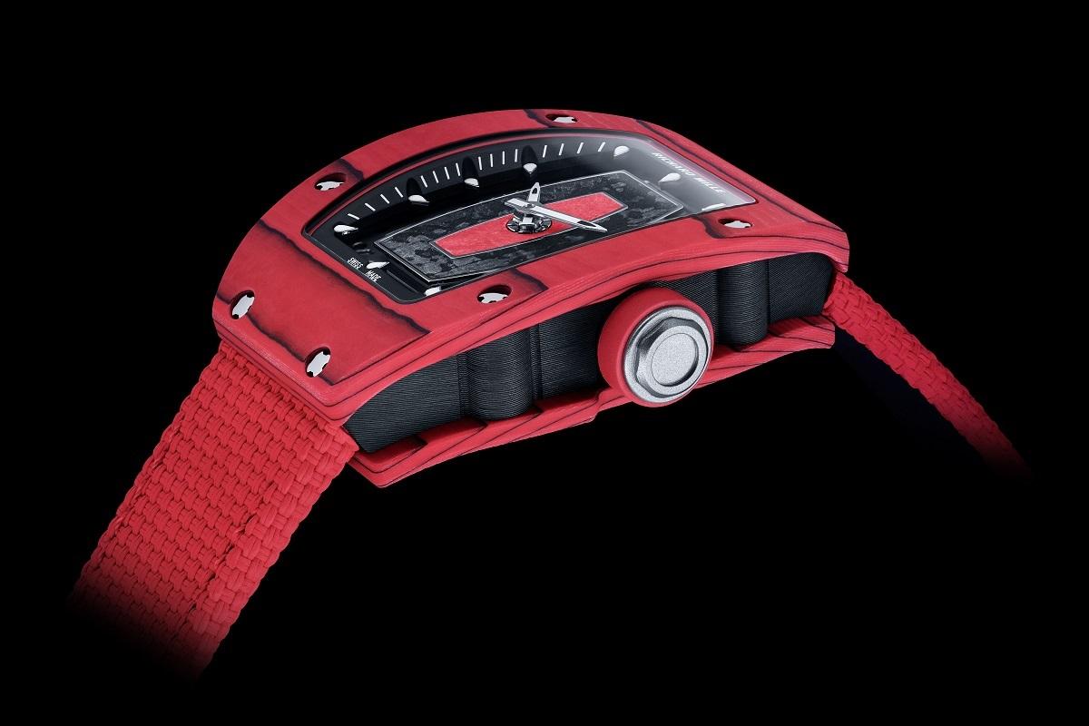 La cassa tonneau dell'RM 07-01 Racing Red