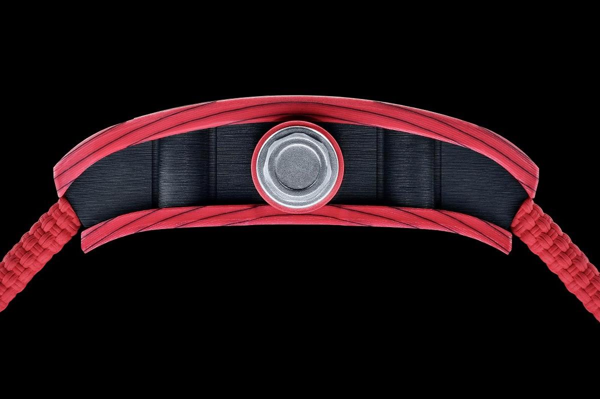 Il profilo dell'RM 07-01 Racing Red
