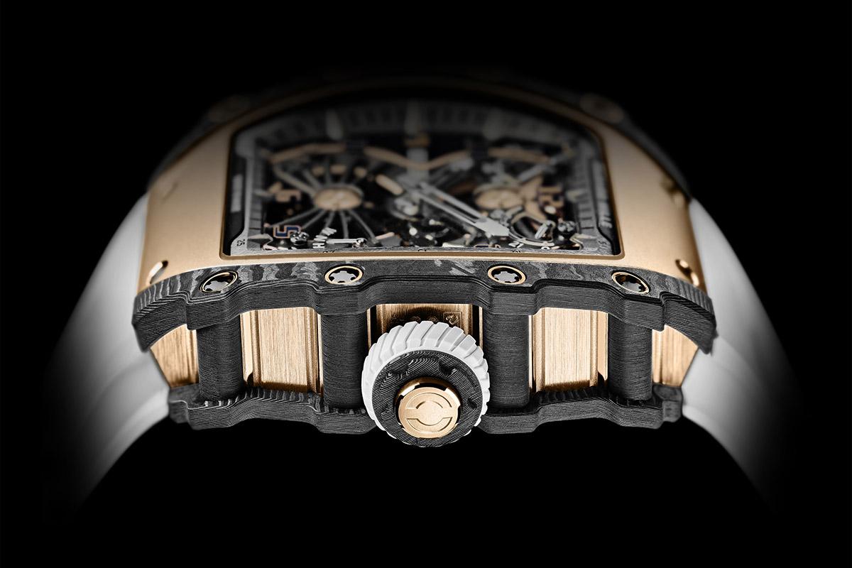 Il profilo dell'RM 21-01 Tourbillon Aerodyne