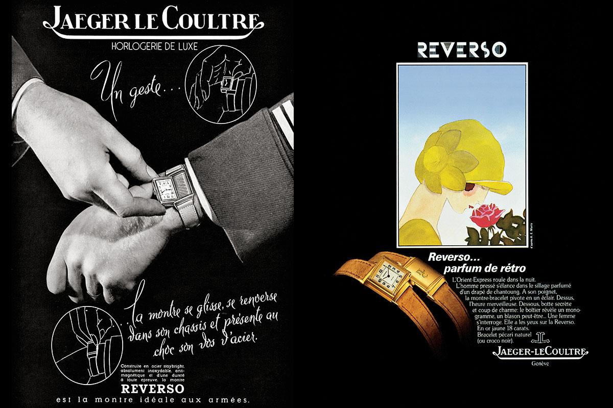 Due pubblicità del Reverso