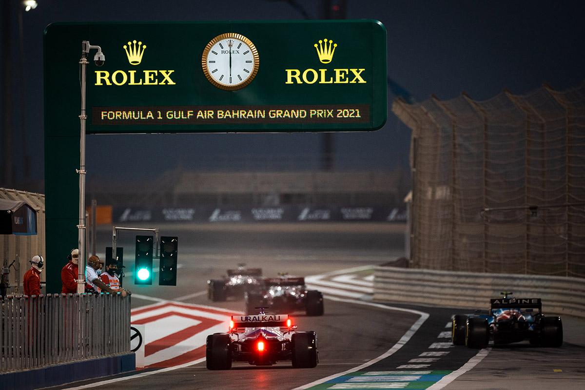 Marketing e orologi: Rolex in F1