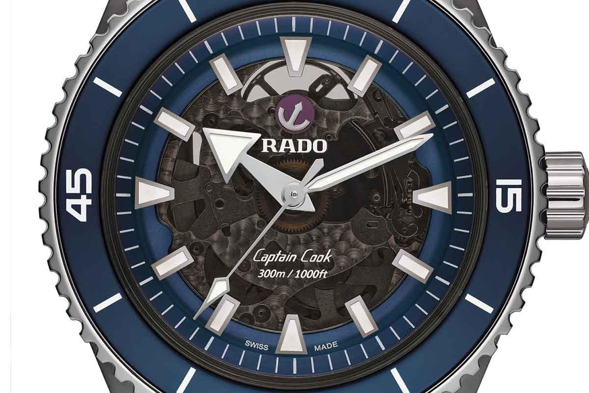 Rado Captain Cook High-Tech Ceramic versione blu
