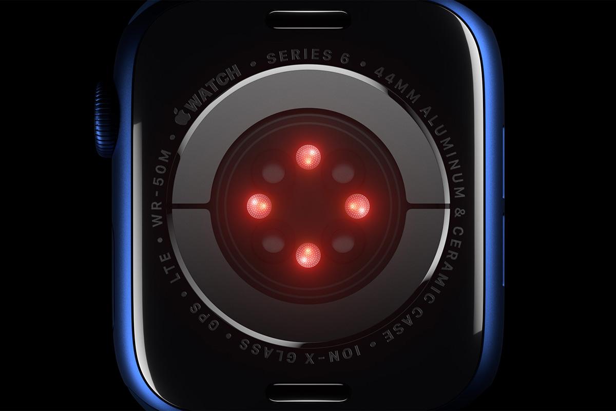 Il fondello dell'Apple Watch 6
