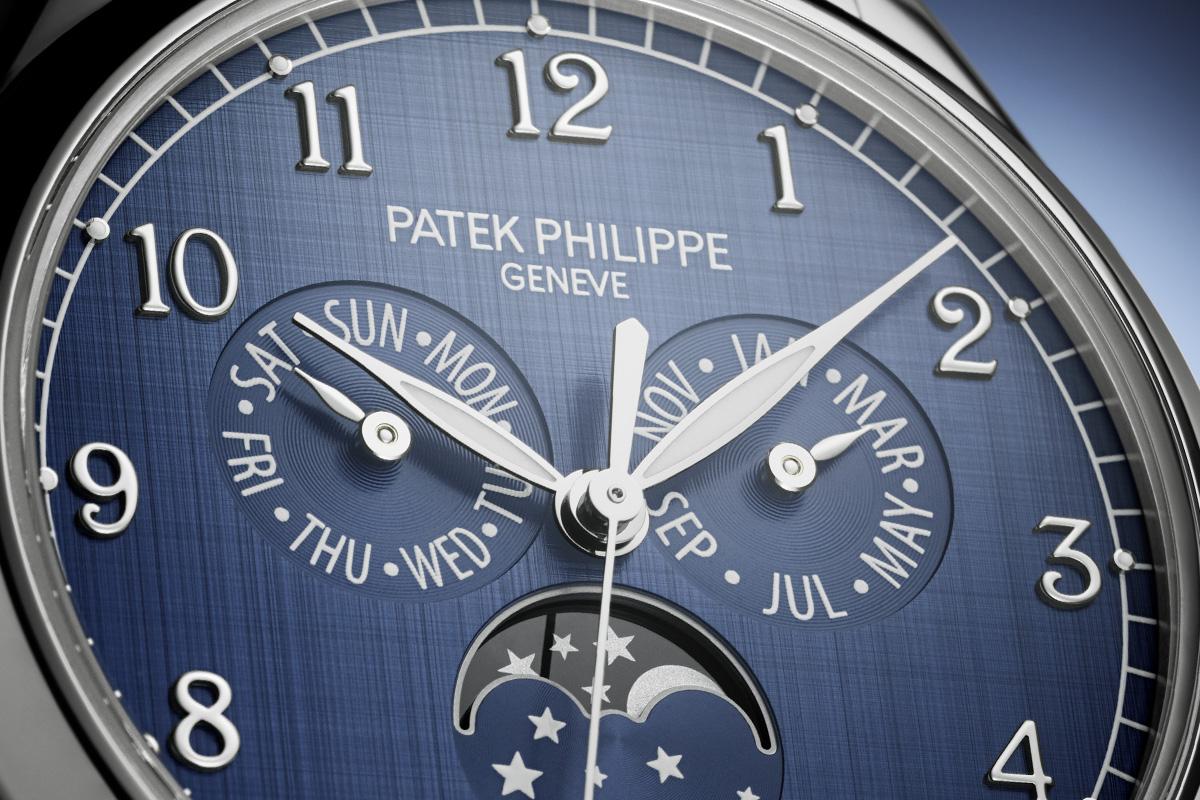 Il blu secondo Patek nel Calendario annuale Ref. 497/1A