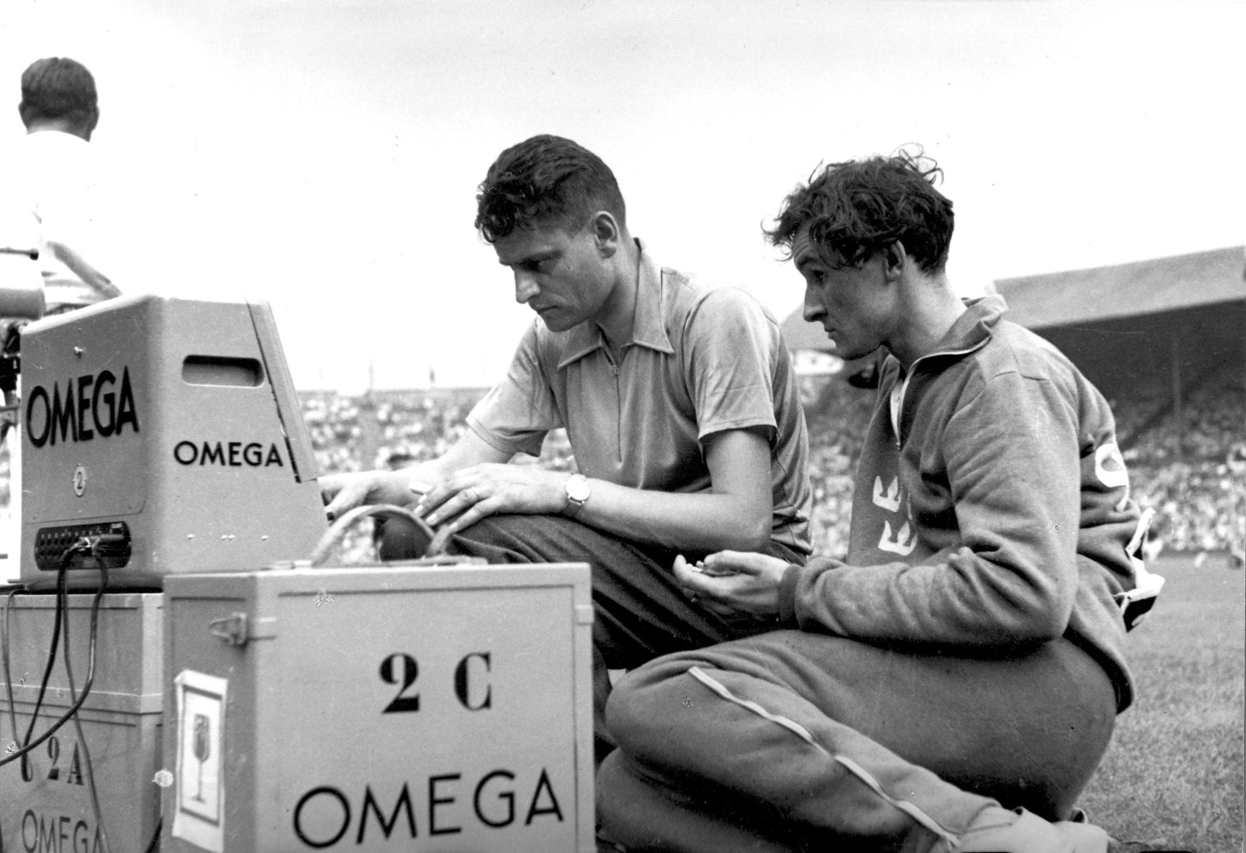 Macchine Omega alle Olimpiadi del 1948