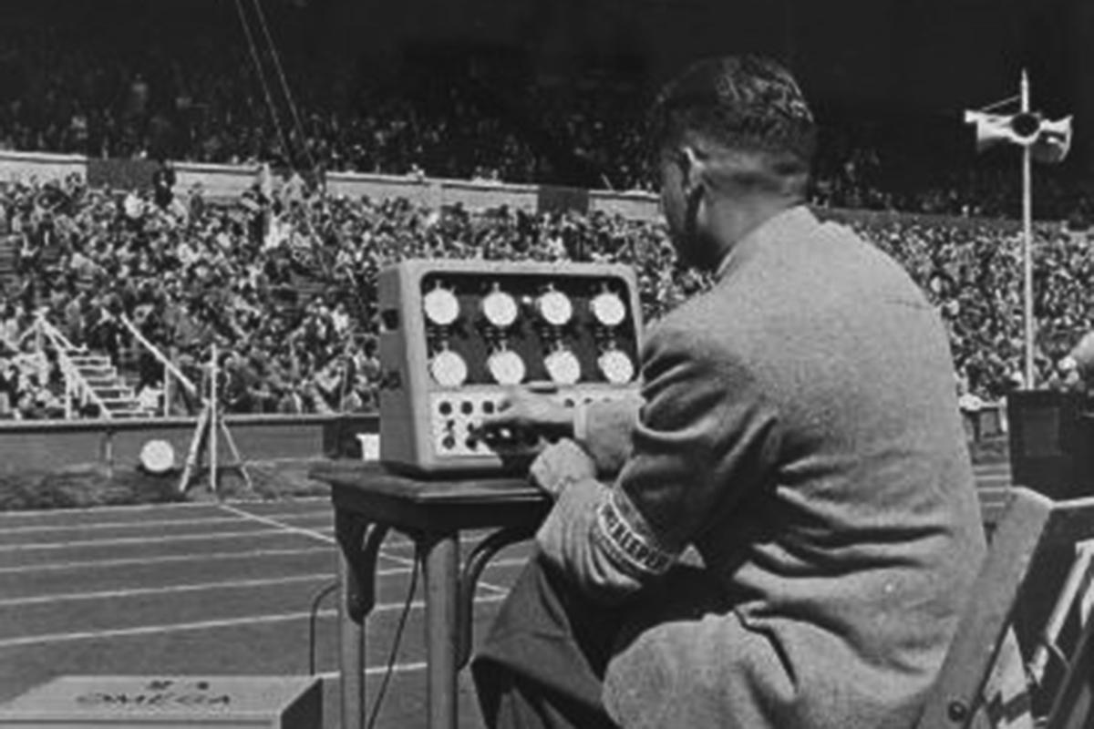 Il cronometraggio Omega alle Olimpiadi del 1932