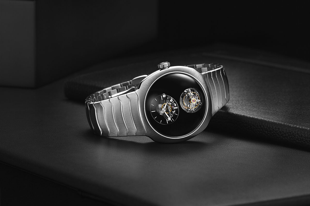 H.MOSER & Cie Streamliner Cylindrical Tourbillon Only Watch