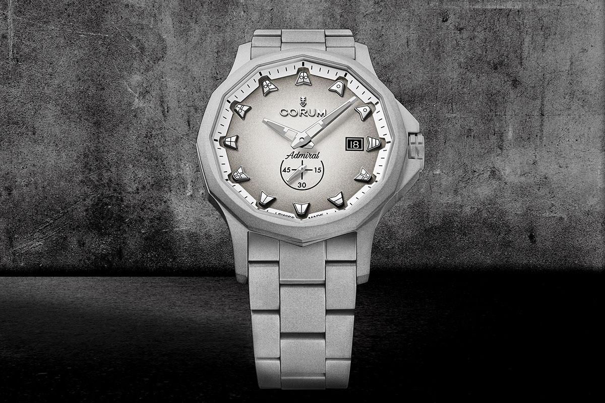 Admiral 42 Full Grey Monochrome