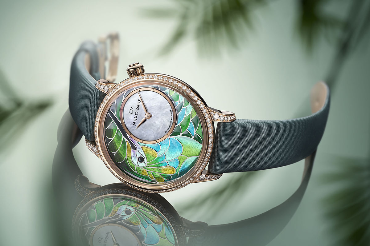 Bir watch di Jaquet Droz