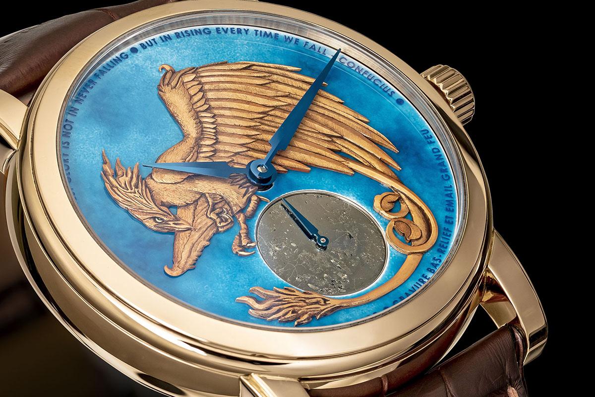 Bird watch di Schwarz Etienne con fenice