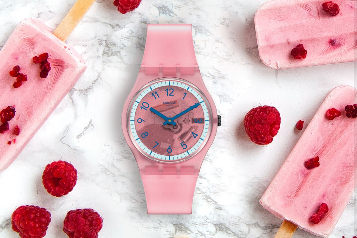 SwatchPay! Gent Pink Pay!
