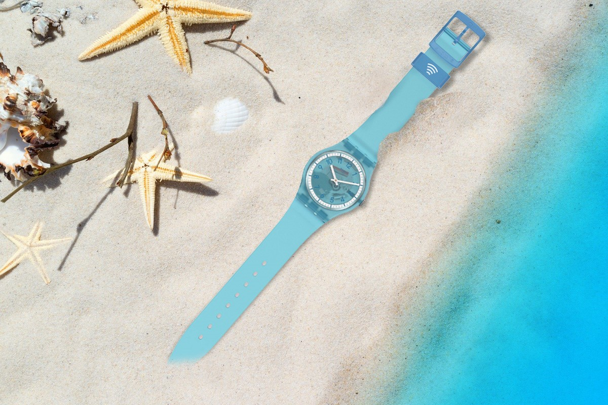 SwatchPAY! Gent Lightblue Pay